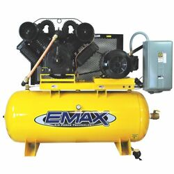 EMAX EP25H120V3 25 HP 120 Gallon Industrial Plus Horizontal Air Compressor $5,599.00