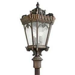 Kichler Lighting 9565LD Tournai Traditional Outdoor Post Light In Londonderry