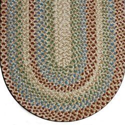 Joseph's Coat Colonial Durable Soft Polypropylene Braided Rug Country Decor 700
