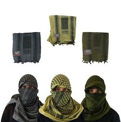 Maddog Sports Shemagh Tactical Desert Scarf 3 Pack - Grey Olive