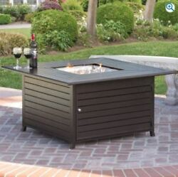 🔥Sale🔥Aluminum Gas Outdoor Fire Pit Table With Cover