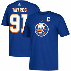 New York Islanders John Tavares Adidas Blue Short Sleeve Jersey T-Shirt