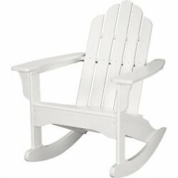 Hanover Outdoor Furniture All Weather Contoured Adirondack Rocking Chair
