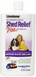 Lambert Kay Shed Relief Plus Dog and Cat Skin and Coat Liquid Supplement 32 oun