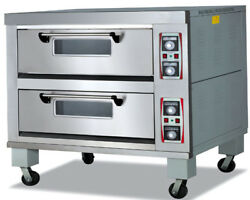 Baking Oven Electric  Two Deck with Micro Digital Commercial