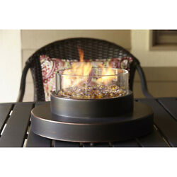 Table Top Portable Heater Patio Deck Gas Fireplace Fire Pit Propane Bowl Outdoor