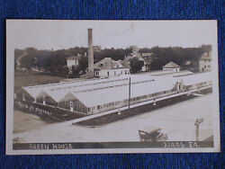 Osage IALarge Commercial GreenhouseSepia RPPCPhoto by CarterPosted 1918