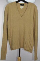 Vtg Frederick & Nelson Seattle 282 Grams Pure 100% Vicuna Mens V-Neck Sweater 42