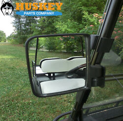 Golf Cart Side Mirrors Rear Glass Rear View Mirrors For EZGO Club Car YAMAHA  $20.95