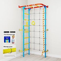 Carousel S4: Home Gym Swedish Wall Playground Set for Schools Kids Room