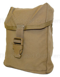 USMC Individual First Aid Kit Pouch IFAK Coyote MOLLE Utility Pouch VGC $7.95