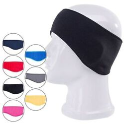 Ear Warmers Cover Headband Winter Sports Headwrap Fleece Ear muffs for Men Women