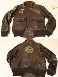 Vintage Patch Work 5 Savage Sons Of Sanford Military Outerwear Flight Jacket