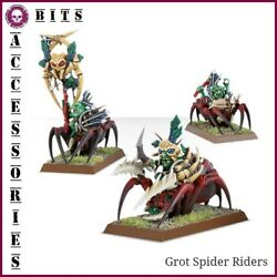 BITS SPIDERFANG GROTS SPIDER RIDERS FOREST GOBLIN SPIDER WARHAMMER AOS EUR 1.50