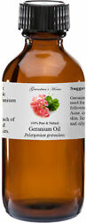 Geranium Essential Oil 4 oz 100% Pure and Natural Free Shipping $18.99
