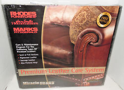 MiracleGuard Miracle Guard Premium Leather Care System Rhodes Furniture Care Kit
