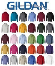 Gildan Heavy Blend Hooded Sweatshirt 18500 S 5XL Sweatshirt Jumpers Soft Hoodie $11.35