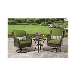 Outdoor Patio Dining Lawn Yard Pool Furniture Table 2 Chairs Set 3-Piece Seats 2