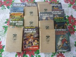 Ken Holt Mystery Books- Complete Set Except For #18. Good to excellent condition