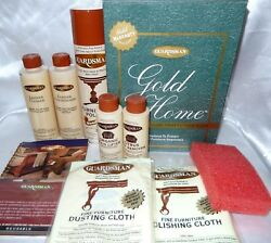 New Guardsman Furniture Care Kit  Fabric Leather Wood
