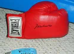 MUHAMMAD ALI SIGNED LEATHER GLOVE PERFECT CONDITION GREATEST ONLINE AUTHENTICS