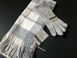 Louisa Perini CASHMERE Scarf And Gloves Set