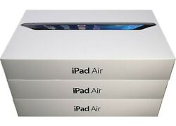 Apple iPad Air 9.7 inch Space Gray 16GB Wi Fi Only Exclusive Bundle Deal $199.00