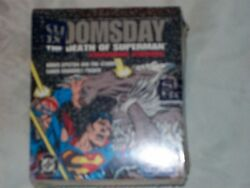 Doms day the death of superman trading cards