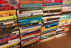 Lot of 10 Large Trade Literature Fiction Paperback BestSeller UNSORTED Mix Books $12.55