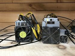 LTC Litecoin Miner NEW wPOWER SUPPLY! IN HAND!!! Bitmain Antminer L3+ 504 MHs