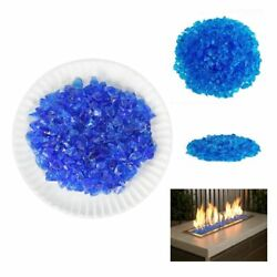 American Fireglass 9 to 12mm Fire Pit and Outdoor Fireplace Glass Small 10-Po...