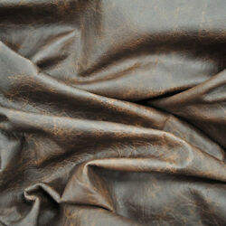 Brown Leather Hide Upholstery Whole Full Cow Hide 50 Square Feet Distressed $200.00
