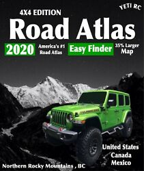 1 10 Scale Accessories RC 2020 4X4 Edition Road Atlas for crawlers and trucks $2.50