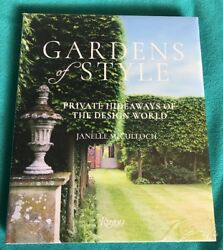 Gardens Of Style Almost New Book-Still Mostly In Shrink Wrap Janelle Mcculloch