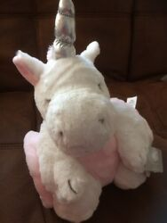 Primark Soft Blanket Baby Pink And Cuddly Soft White Unicorn Toy New And Tagged