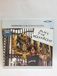 Morrissey Low In High School Exclusive Rare French Blue Vinyl LP Record