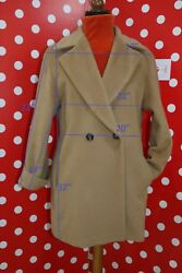 MARELLA by MAX MARA sz 44 us 8 eu 38 coat woolcashmere coat women