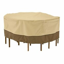 Patio Furniture Cover Outdoor Weatherproof Table Chair Covers W Buckled Straps