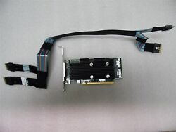 DELL POWEREDGE R740xd SERVER SSD NVMe PCIe EXTENDER EXPANSION CARD 1YGFW W6N4M $299.00