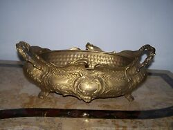 Vitage Old America Unique Design Brass Metal Gold Fireplace Ash Bucket