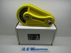 ISC LARGE CAST ALUMINUM PULLEY LOCK 200KN 3 4quot; CAPACITY YELLOW #RP057A1 $238.99