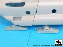 Black Dog 1 72 CH 47 Chinook Helicopter Ski Assembly Set for Italeri A72002 $22.54