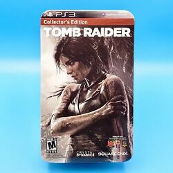 Tomb Raider Collector's Edition Xbox 360 Lara Croft Play Arts Kai Figure SEALED