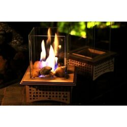 Can Lantern Gel Fuel Mini Tabletop Fireplace Home Outdoor Patio Small Portable