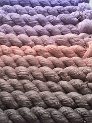 Gradient yarn set - cashmeremulberry silk handdyed yarn lace 275g-hand painted