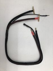 RC Charger Charge Lead W 10 awg wire 24quot; Long w Black outer jacket 5MM 4MM $19.99