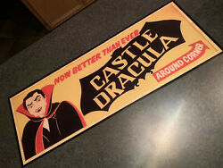 Wildwood Castle Dracula Billboard Art Mini Poster Print Dark Ride
