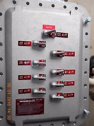 EXCO EXPLOSION-PROOF CLASS 1 DIV 1  PANEL 1 PH 100 AMP MAIN customized options