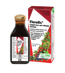 Floradix® Liquid Iron and Vitamin Formula 250 ml Free Shipping  $22.95