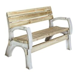 Garden bench With Sand Color Hopkins - F3 Brands 90134 Any Size Chair Bench Kit